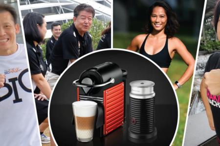 Win a Nespresso coffee machine with The Big Walk