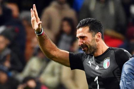 Teary end for Italian great Buffon