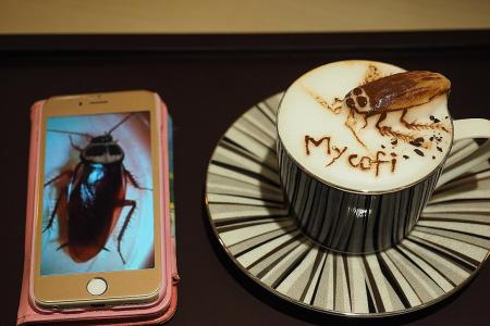 Waiter, I want a cockroach in my coffee
