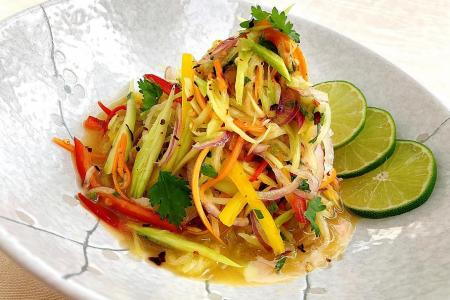 Want crunch in your salad? Try chayote, it's really gourd