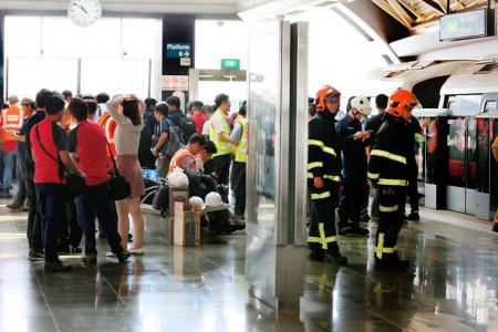 Injured passenger in Joo Koon MRT collision: 'I was in a lot of pain'