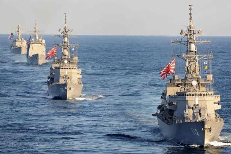 Japan, US conduct naval drill