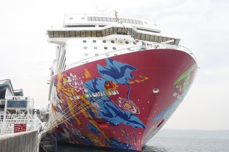 Genting Dream makes S'pore its home