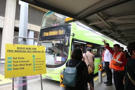 Alternative travel plans in place after Joo Koon collision