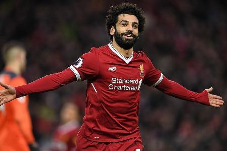 Sizzling Salah earns plaudits