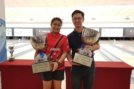 Justin, Jermaine win at National Bowling C'ships