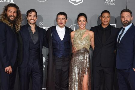 Justice League falls short at box-office Tambor quits Transparent after sex assault claims