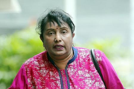 Jail for hitting maid with plastic hanger