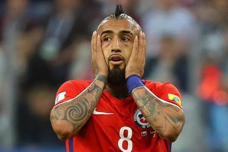 Vidal bounces back after coach's criticism