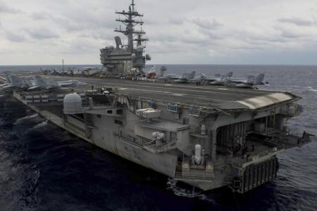 Eight rescued after US Navy aircraft crashes into Philippine sea