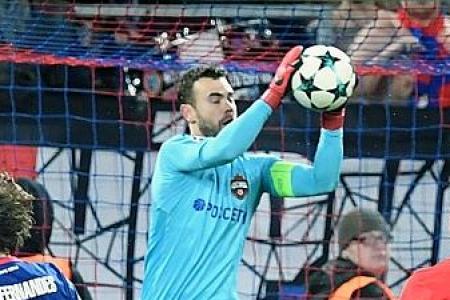 CSKA Moscow goalkeeper's clean sheet horror ends