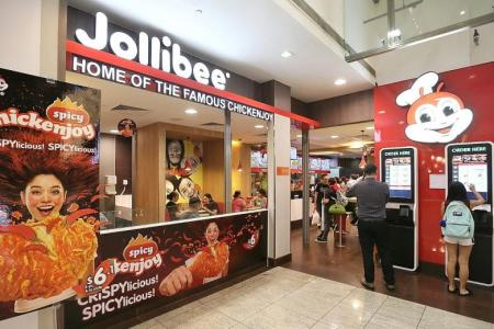 Jollibee expands in Singapore