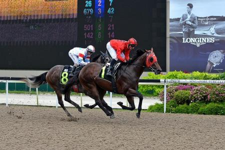 Sunday's Kranji racing best bet