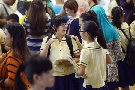 98.4% of PSLE pupils qualify for secondary school