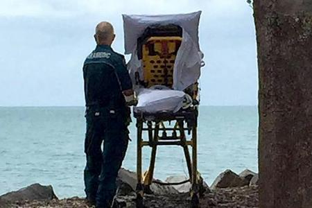 One last look at the sea for dying Aussie woman