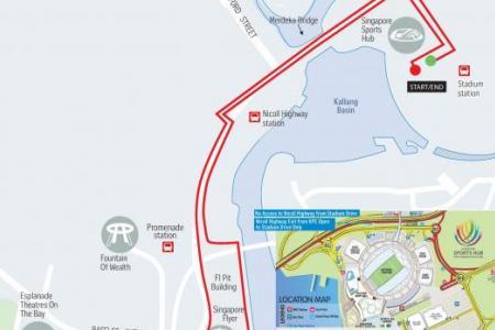 Get ready for a fun-filled Big Walk tomorrow
