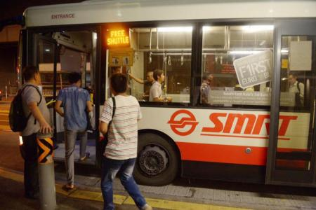 LTA to share cost of additional buses with SMRT