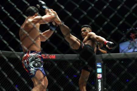 Perfect night for Singapore's MMA fighters