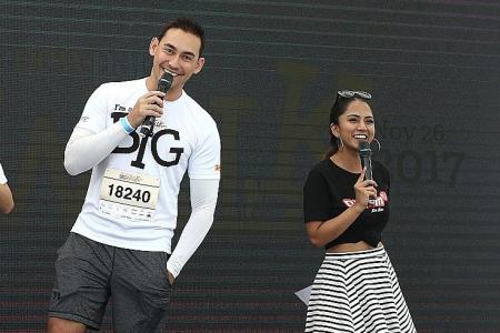 Athletes, celebrities come together to enjoy Big Walk