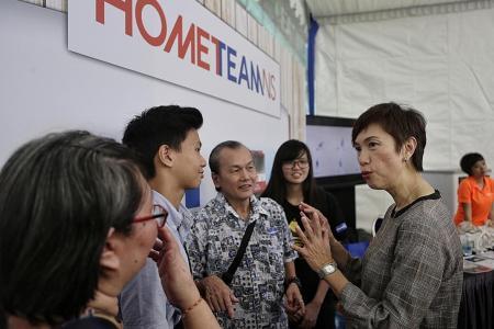 Josephine Teo takes over Home TeamNS