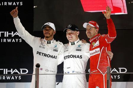 Bottas pips Hamilton in season-ender
