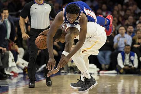 Cavaliers' grieving guard plays on