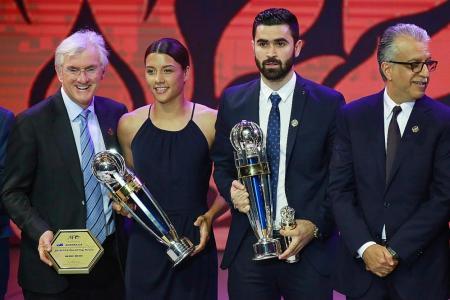 Syrian striker Khrbin named Asian Player of the Year