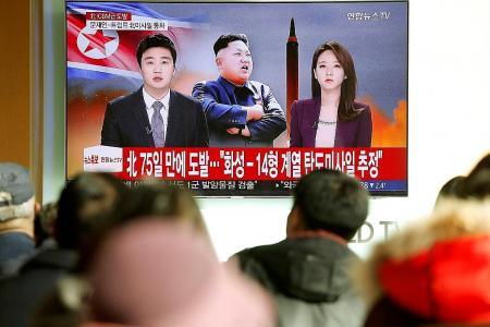 World leaders condemn latest provocation from North Korea