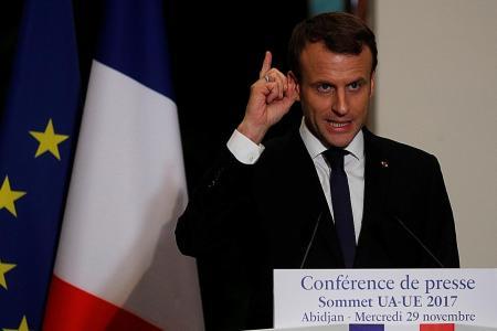 Macron to give Saudi Arabia list of extremist groups
