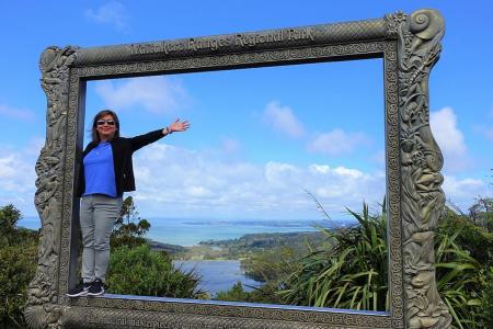 Breathtaking nature co-exists with concrete jungle in Auckland