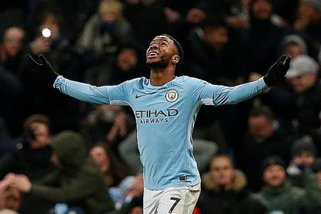 Sterling the surprise leading man of Man City's title charge