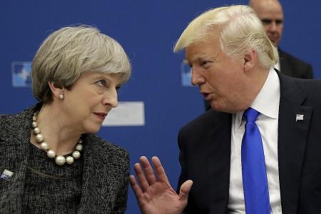 Trump attacks British PM after criticism of anti-Muslim videos