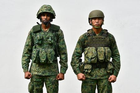 New load-bearing vest for SAF soldiers