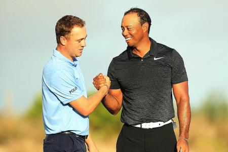 Tiger impresses in first competitive outing in 10 months