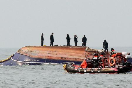 13 dead, 2 missing as S. Korean fishing boat hits tanker