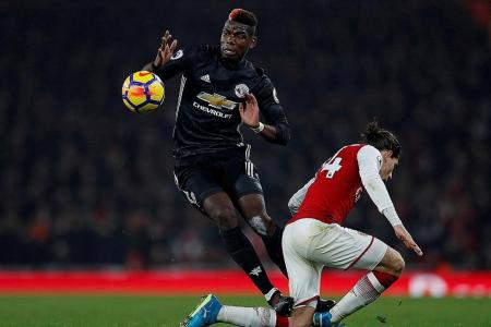 Dismissed Pogba furious with Koscielny reaction to red card