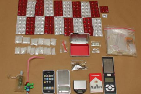 Four-day drug bust by Central Narcotics Bureau nabs 162