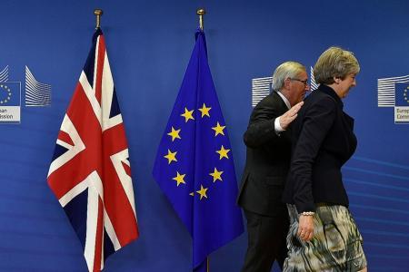 Britain agrees deal on Irish border: Reports