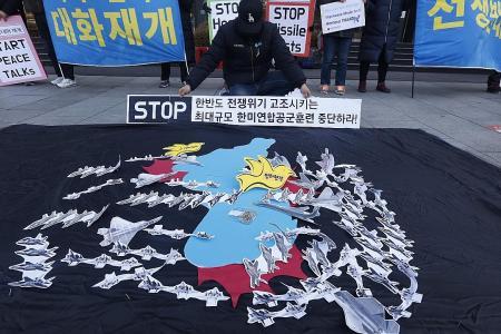 Largest US-S. Korea air drill starts