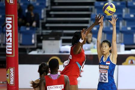 Singapore's netball team face uphill task after second loss