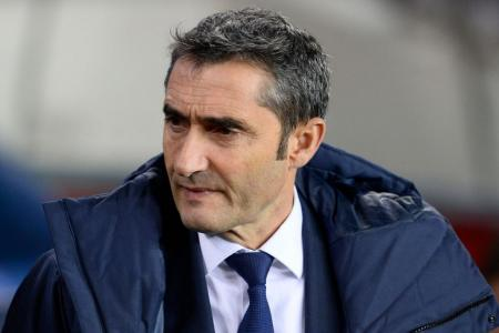 Barca coach Valverde vows to stick to attacking football