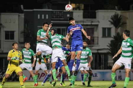 Funding cut for S.League unlikely to be as bad as feared