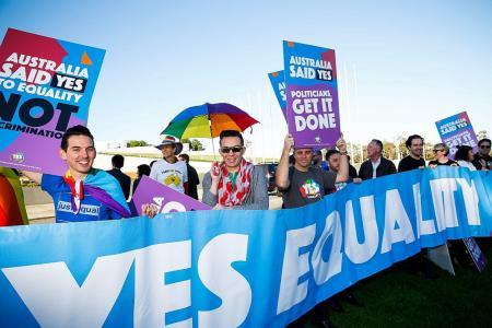 Australia says yes to single-sex marriage