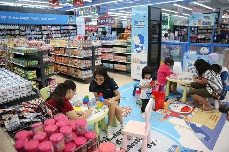 Revamped FairPrice outlet boasts new retail concept