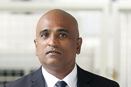 Jail for man who broke into office with M. Ravi
