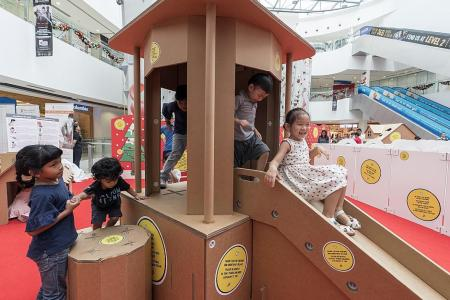 Fun for the whole family at Kallang Wave Mall's Christmas Village