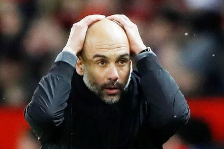 Man City in trouble without January signings - Guardiola