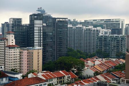 Resale price of condominiums rose last month