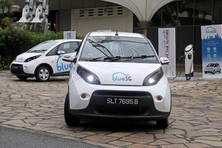 Singapore's first fleet of shared electric cars launches