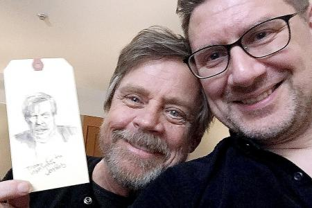 Mark Hamill asked for my 'autograph'